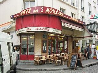 Caf Ef Bf Bd Des  Moulins A Montmartre