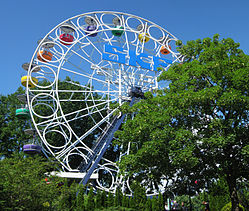 The big wheel at Liseberg Funpark