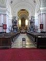 Parish Church, nave, 2020 Piliscsaba.jpg