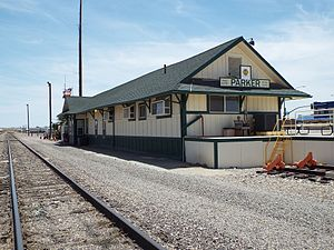 Arizona and California Railroad - Image: Parker Arizona and California Railroad Station 2
