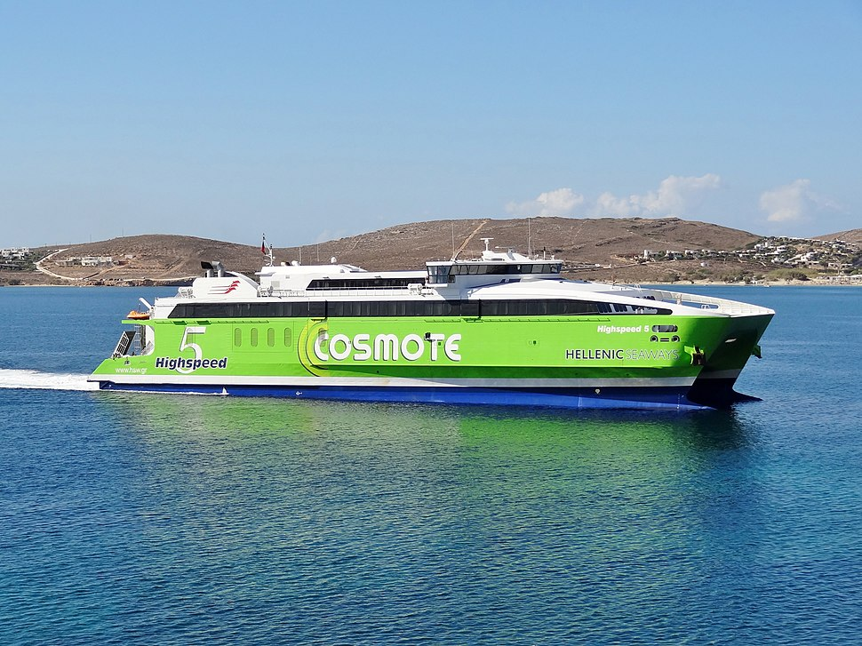 Paros Hellenic Seaways Highspeed 5 07