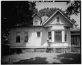 Partial east elevation (rear portion) - O'Shee House, 1606 Fourth Street, Alexandria, Rapides Parish, LA HABS LA,40-ALEX,1-6.tif