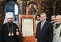 Participation of the President of Ukraine in the festive Christmas liturgy in Saint Sophia, Kiev 26.jpeg