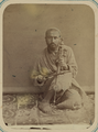 Pastimes of Central Asians. A Musician Playing a Gydzhak, a Stringed Instrument WDL10821.png