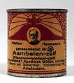 Pastoor Heumanns geneesmiddel Nr35 Aambeien-zalf (Haemorrhoidaal-zalf) blikje, foto 3.JPG