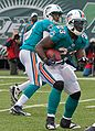 Pat White Ronnie Brown Jets-Dolphin game, Nov 2009 - 105.jpg
