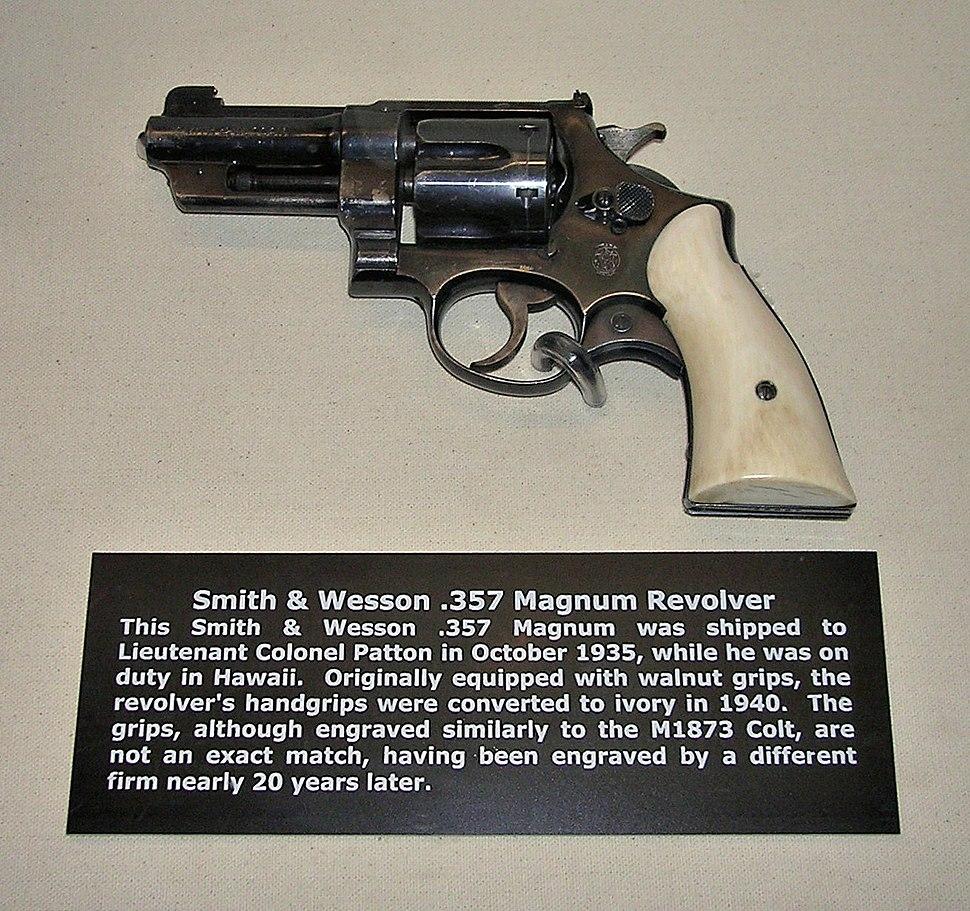 Patton's .357 revolver