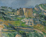 Paul Cézanne - Houses in Provence- The Riaux Valley near L'Estaque - Google Art Project.jpg