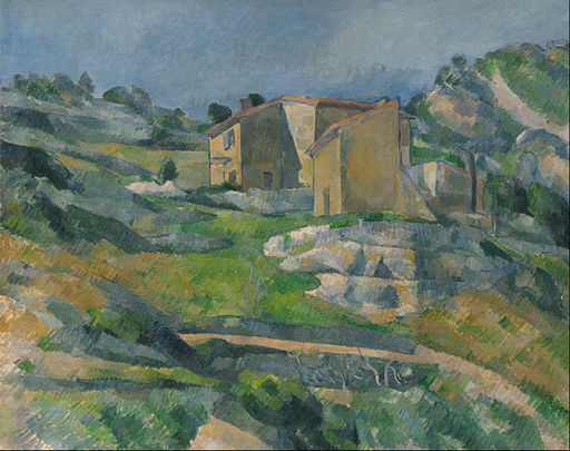 Paul Cézanne - Houses in Provence- The Riaux Valley near L'Estaque - Google Art Project