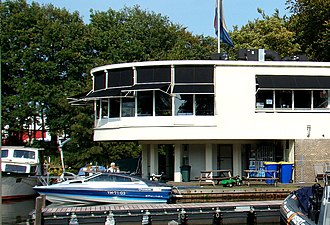 "Lakes (restaurant) - ""Paviljoen Wildschut"", built by Willem Marinus Dudok, now houses the restaurant"