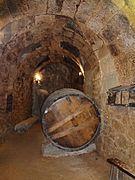 Peña El Chilindrón, Aranda de Duero, España, pic. 1941 Underground Wine Cellar, Bodega de Vino.jpg