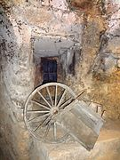 Peña El Chilindrón, Aranda de Duero, España, pic. 1956 Underground Wine Cellar, Bodega de Vino.jpg