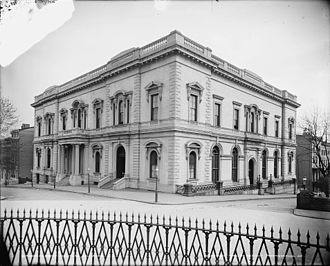 Peabody Institute - Peabody Institute, East Mount Vernon Place, c. 1902