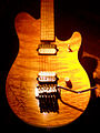 Peavey EVH Wolfgang guitar (body) at Hard Rock Cafe San Antonio, Texas.jpg