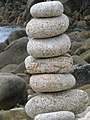 Pebble tower on Isle of St Agnes - panoramio.jpg