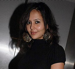 Peeya Rai Choudhary at the premiere of Ahista Ahista.jpg