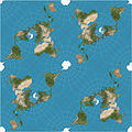 Peirce quincuncial projection SW 20W tiles.JPG