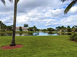 Pembroke Falls, a residential development in Pembroke Pines, Florida