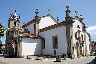 Penafiel - Former cathedral, now Igreja da Misericordia: Our Lady of Mercy