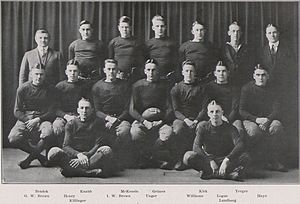 1918 Penn State Nittany Lions football team - Image: Penn State Football 1918