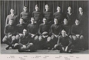 1918 Penn State Nittany Lions football team - Image: Penn State Football 1918