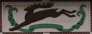 Birchfield Harriers - Birchfield Harriers' badge on Perry Barr Stadium