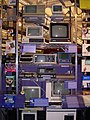Personal computer collection rack - Computer History Museum (2007-11-10 21.23.48 by Carlo Nardone).jpg