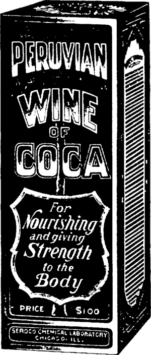 Coca wine - Image: Peruvian Wine of Coca