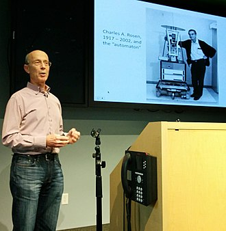 Shakey the robot - Peter Hart discussed Shakey's firsts in a talk at Google in February 2015.