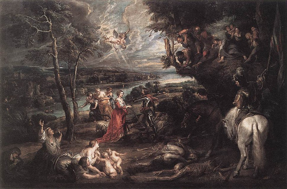 Peter Paul Rubens - Landscape with Saint George and the Dragon - WGA20401