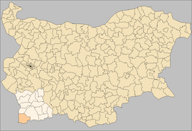 Petrich Municipality Bulgaria map.png