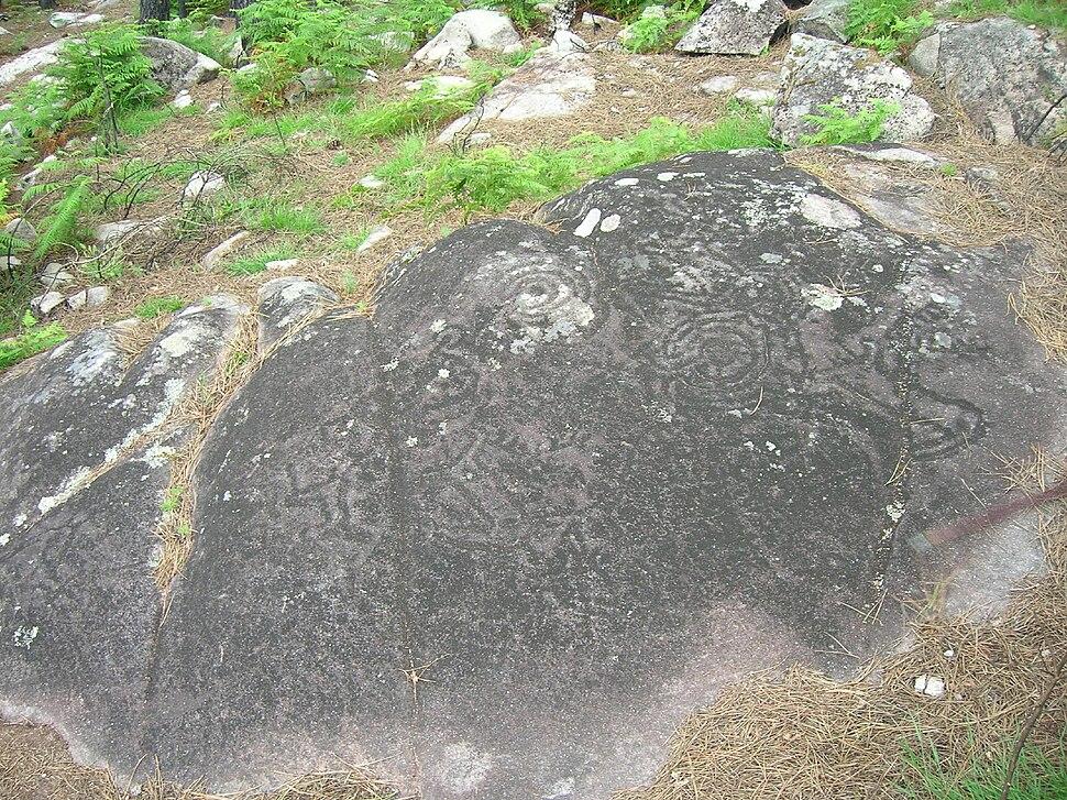 Petroglifos de Fentáns