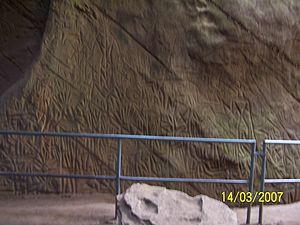 Edakkal Caves - Petroglyphs