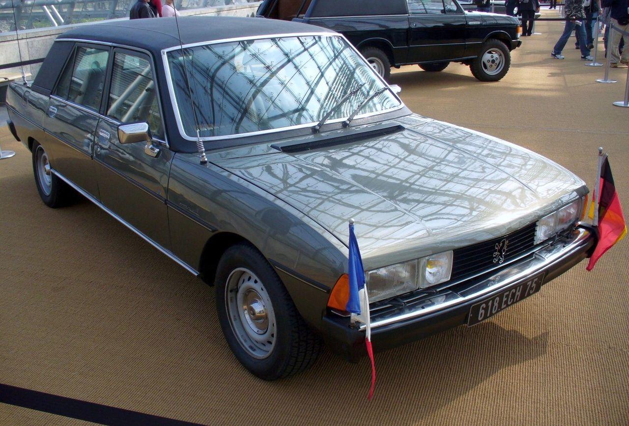 Le Haut de Gamme à la Francaise en 80 1280px-Peugeot_604_Valery_Giscard_d%E2%80%99Estaing