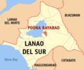 Ph locator lanao del sur poona bayabao.png