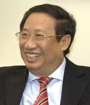 Phạm Gia Khiêm - Pham Gia Khiem at the Pentagon in 2007
