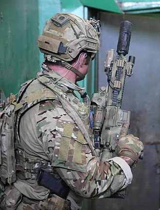 2nd Commando Regiment (Australia) - Commando in close quarters battle training during Exercise Balikatan 2017 in the Philippines