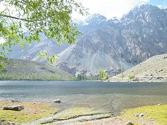 Phander Lake - Phunder Lake in the Upper Ghizer