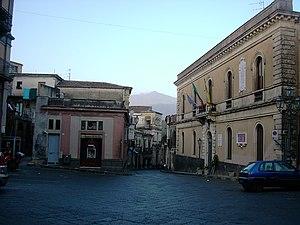 Castiglione di Sicilia - Piazza Lauria