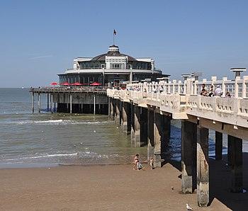 English: Blankenberge (Belgium): the Pier Nede...