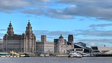 Pier Head and Mersey Ferry Liverpool.jpg
