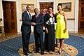 Pierre Nkurunziza with Obamas 2014.jpg