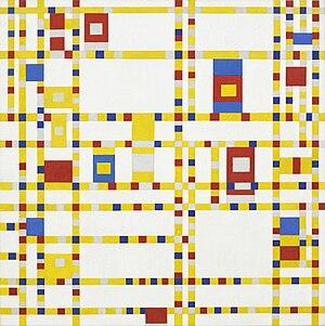 Broadway Boogie Woogie - Image: Piet Mondrian, 1942 Broadway Boogie Woogie