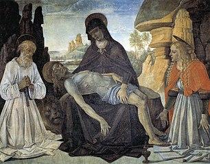 Gonfalon with the Pietà