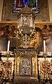 Pietro tacca e orazio vanni, ciborio del duomo di firenze, con sportello di bernardo holzmann, argento, 1622-37, 02.jpg
