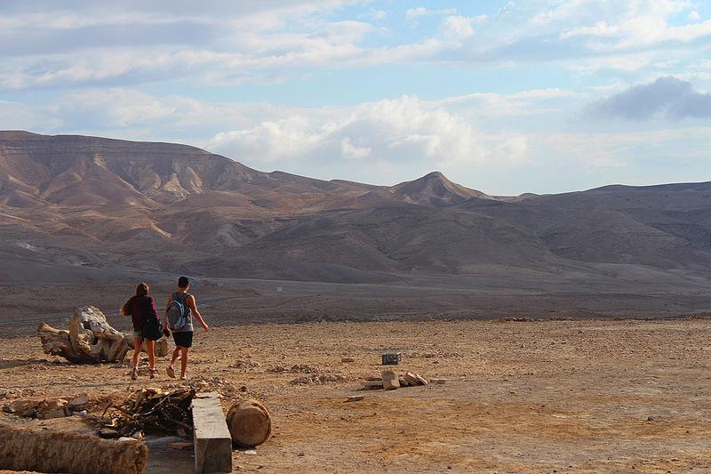 מטיילים במדבר יהודה