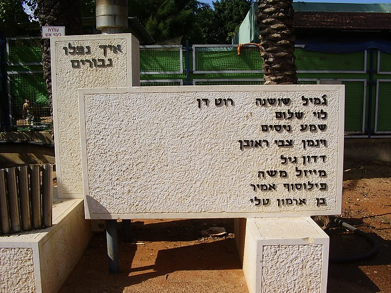 אנדרטה לנופלים במערכות ישראל בפרדסיה