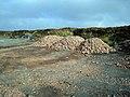 Pile of roadstone - geograph.org.uk - 263510.jpg