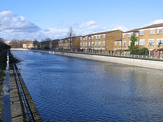 Thamesmead - Pilkington Canal (also called Broadwater Canal) - used to connect to Woolwich Arsenal, now remains as a water feature