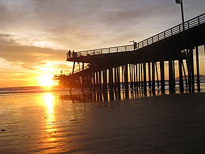 Pismo Beach, California - Pismo Pier sunset
